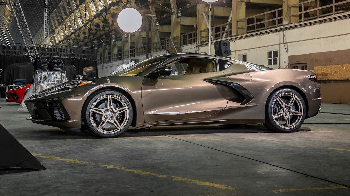 2020 C8 Stingray Spotted in the Wild