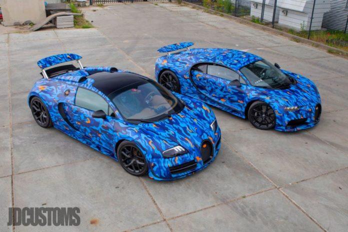 Afrojack's Custom Bugatti Veyron and Chiron