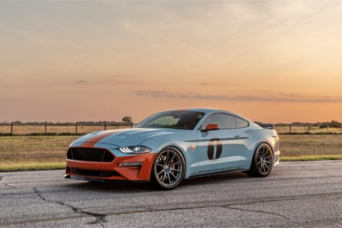 2019 Ford Mustang Gulf Heritage Edition - front view