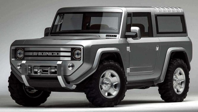 """Here Comes the 2021 Ford """"Baby Bronco"""" Adventurer"""