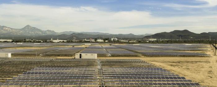 Aura Solar I photovoltaic power station, Baja California, Mexico